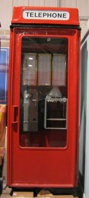 The K8 telephone kiosk.
