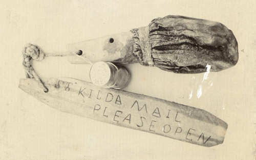 A St Kilda mail boat used by the islanders after Sands' and Ferguson's experiments, c. 1900.