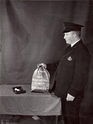 First Australian Air Mail Bag, Dec 1934 (POST 118/205)