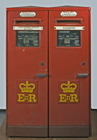 Elizabeth II Type F Twin Pillar Box (OB1994-50i)
