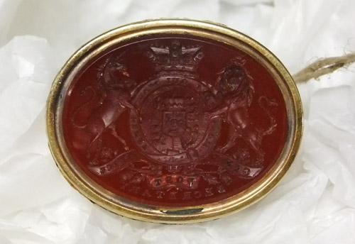 Sir Francis Freeling's Certifying Seal