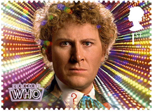 1st Class – The Sixth Doctor Colin Baker