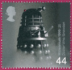 44p - Dalek from Doctor Who, The Entertainers' Tale issue, 1 June 1999