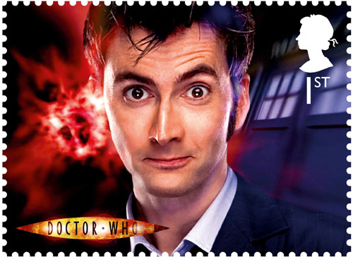 1st Class – The Tenth Doctor David Tennant