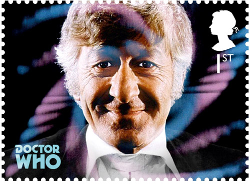 1st Class – The Third Doctor Jon Pertwee