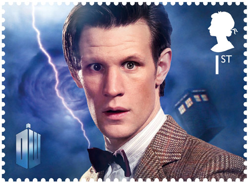1st Class – The Eleventh Doctor Matt Smith