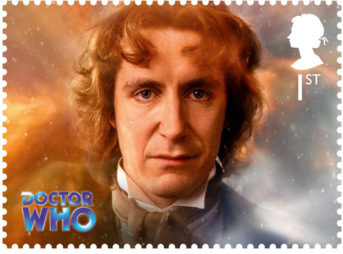 1st Class – The Eighth Doctor Paul McGann