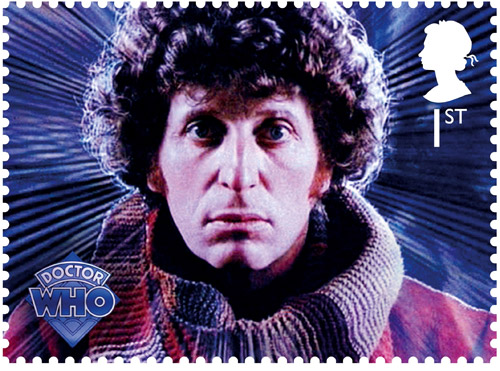 1st Class – The Fourth Doctor Tom Baker