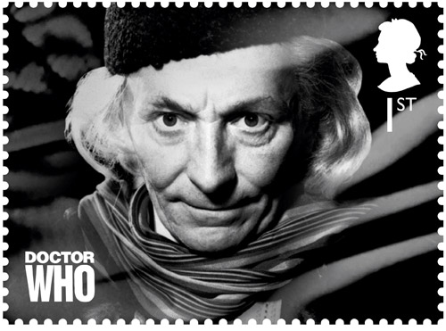 1st Class – The First Doctor William Hartnell