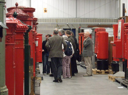 Our curators will give you a quick introduction to pillar boxes.