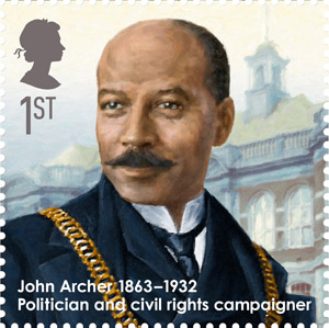 John Archer, 1863-1932 - Politician and civil rights campaigner.