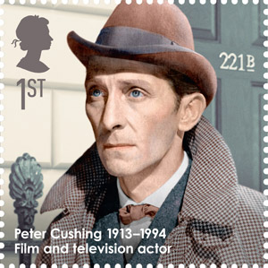 Peter Cushing, 1913-1994 - Film and television actor.