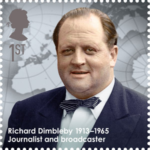 Richard Dimbleby, 1913-1965 - Journalist and broadcaster.