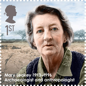 Mary Leakey, 1913-1996 - Archaeologist and anthropologist.