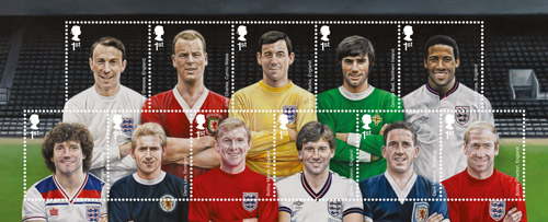 Football Heroes stamps.