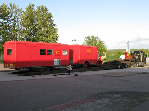 The 1970s Mobile Post Office. (OB1997.233 and 234)