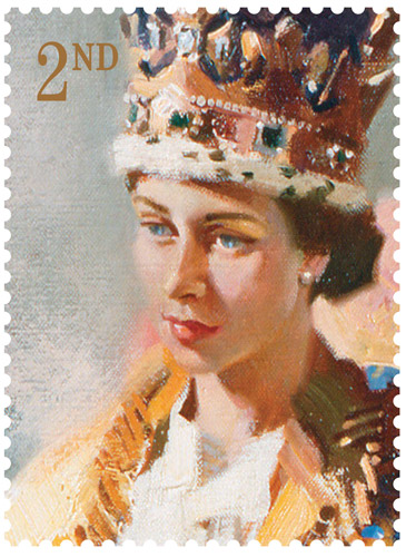 Study for The Coronation of Queen Elizabeth II by Terence Cuneo, 1953 – 2nd Class.
