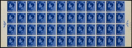 Lot 18: King Edward VIII registration block of 48 (2½d value, blue), estimated at £100,000-120,000.