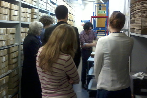 A tour of the Royal Mail Archive.