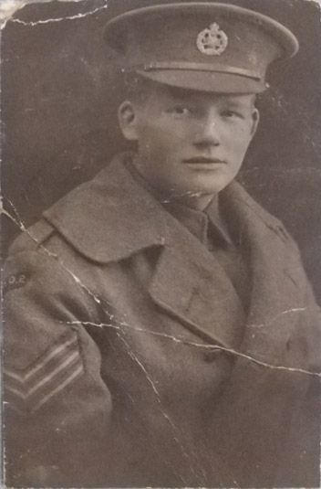 Photograph of Sergeant Thomas May.