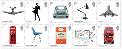 British Design Classics, date of issue: 13 January 2009.