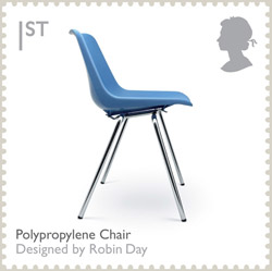 Polypropylene Char by Robin Day, British Design Classics, 2009.