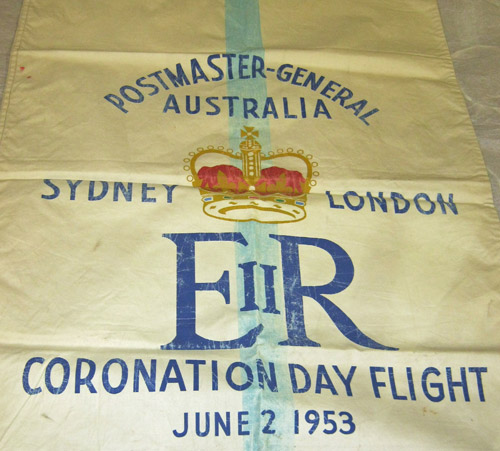 Coronation Day Flight Mailbag. (2007-0057/9)