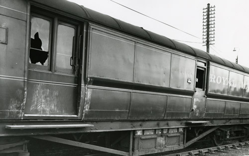 The TPO carriage following the robbery. © Thames Valley Police.