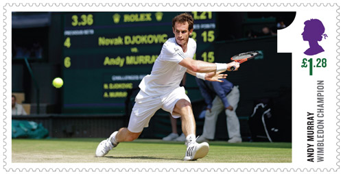 Andy Murray Wimbledon Champion, £1.28 value.