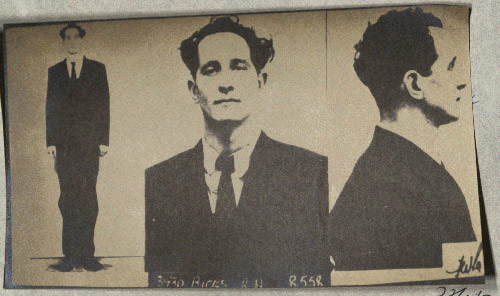 Ronnie Biggs mugshot. (POST 120/100, pg1-2)