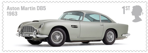 British Auto Legends - The Thoroughbreds - 1st Class: Aston Martin DB5, 1963