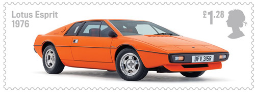 British Auto Legends - The Thoroughbreds - £1.28 Lotus Esprit, 1976