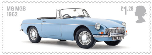 British Auto Legends - The Thoroughbreds - £1.28: MG MGB, 1962