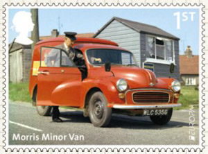 British Auto Legends - The Workhorses - 1st Class: Morris Minor Van, Royal Mail
