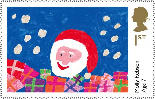 Christmas Stamps The British Postal Museum Archive Blog