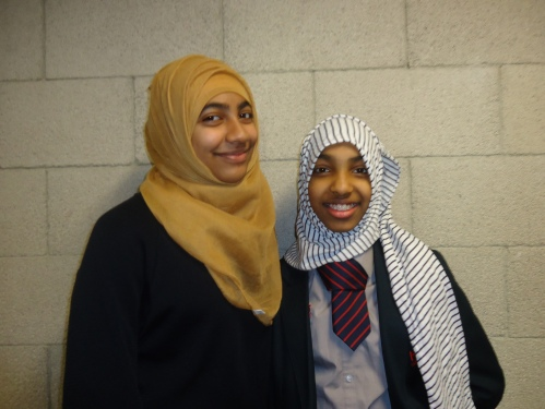Meet Samiah and Shaima - two students from Haverstock School.