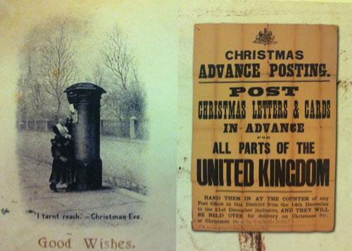 Christmas advance posting notification c.1902