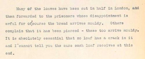 GPO transcript of a complaint from the Bedford Bread Fund (POST 56/243).