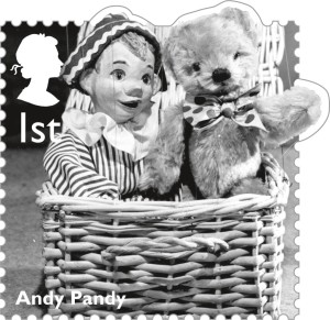 Andy Pandy, 1st class.