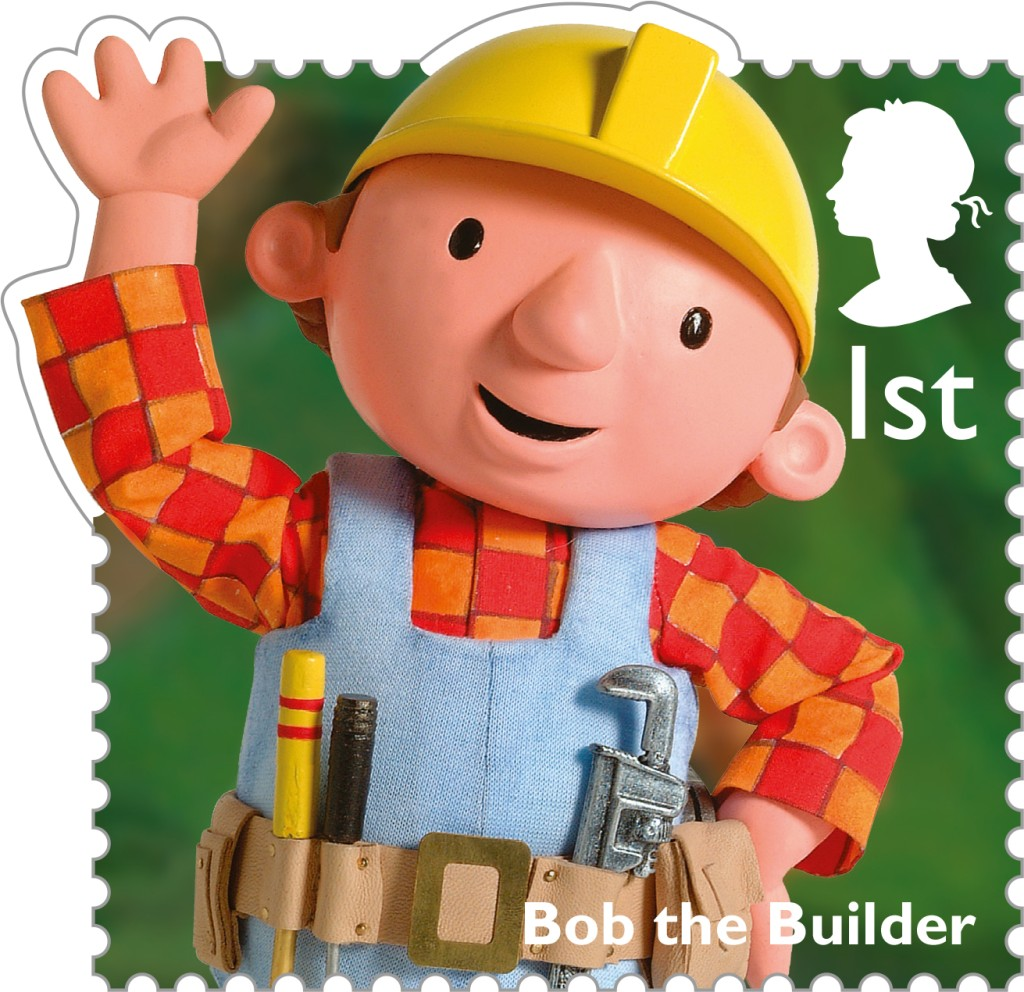 Release of classic children s tv stamps the british for Www builder