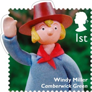 Windy Miller from Camberwick Green, 1st class.