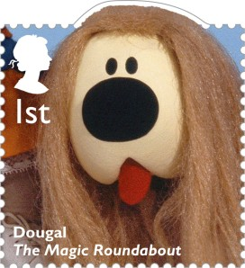 Dougal from The Magical Roundabout, 1st class.