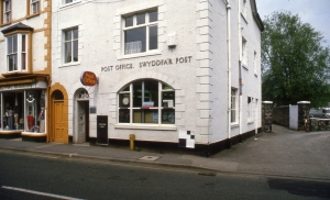 POST 118/PF0243 - Exterior view, Post Office, Llanrwst