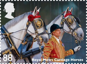 Royal Mews Carriage Horses