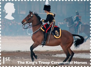 The Kings Troop Ceremonial Horses