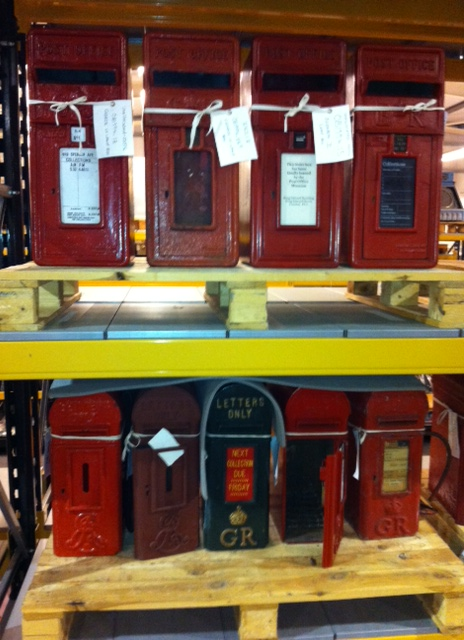 Lamp boxes at our store in Essex.