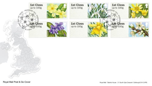 First Day Cover.