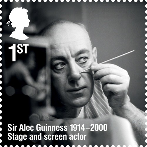 Alec Guinness, 1st class.