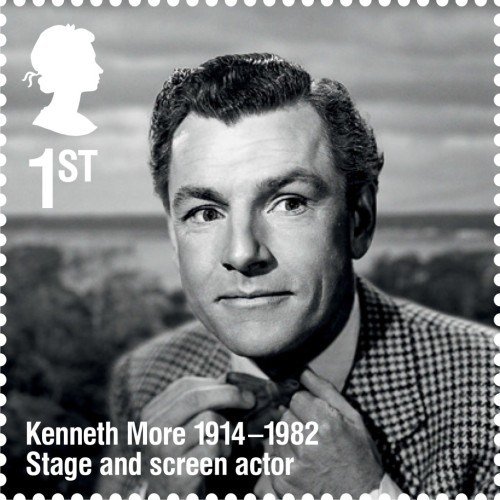 Kenneth More, 1st class.