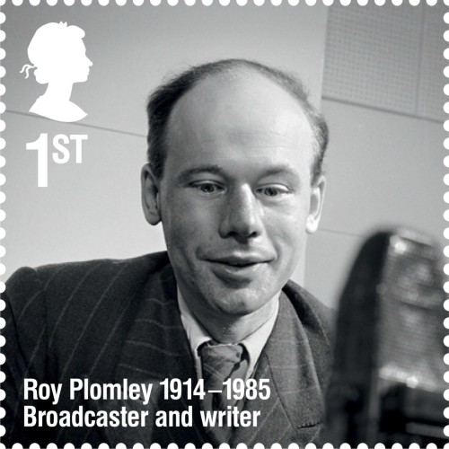Roy Plomley, 1st class.